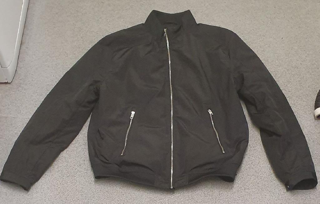 H&M faux leather jacket XL