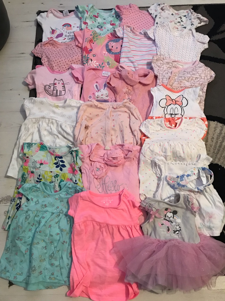 3-6 month Baby girls clothes bundle