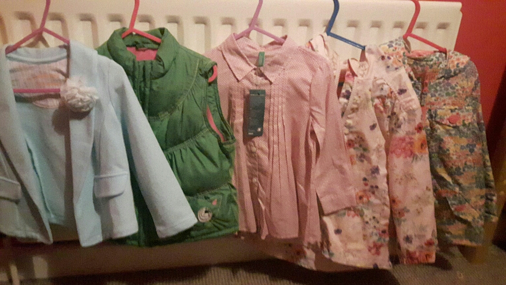 Girls next bemneton clothes age 3 3 4