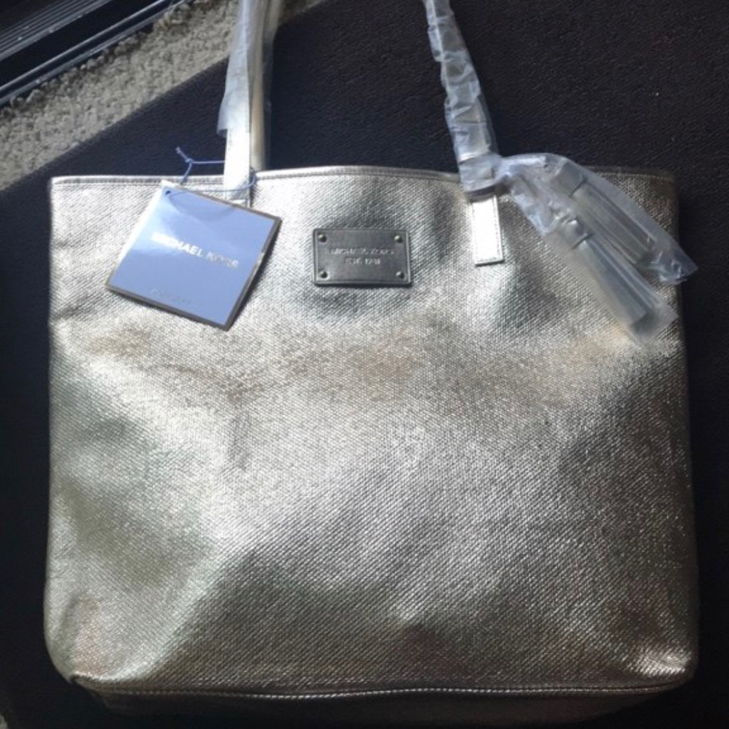Gold Michael Kors Bag