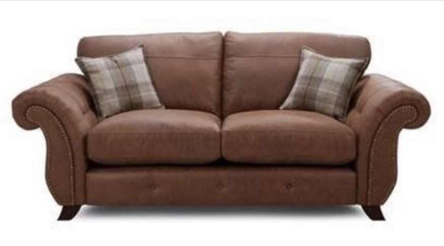 BRAND NEW DFS sofa and footstool
