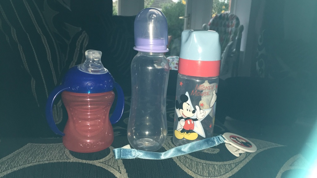 Bottle and sippy cup bundle