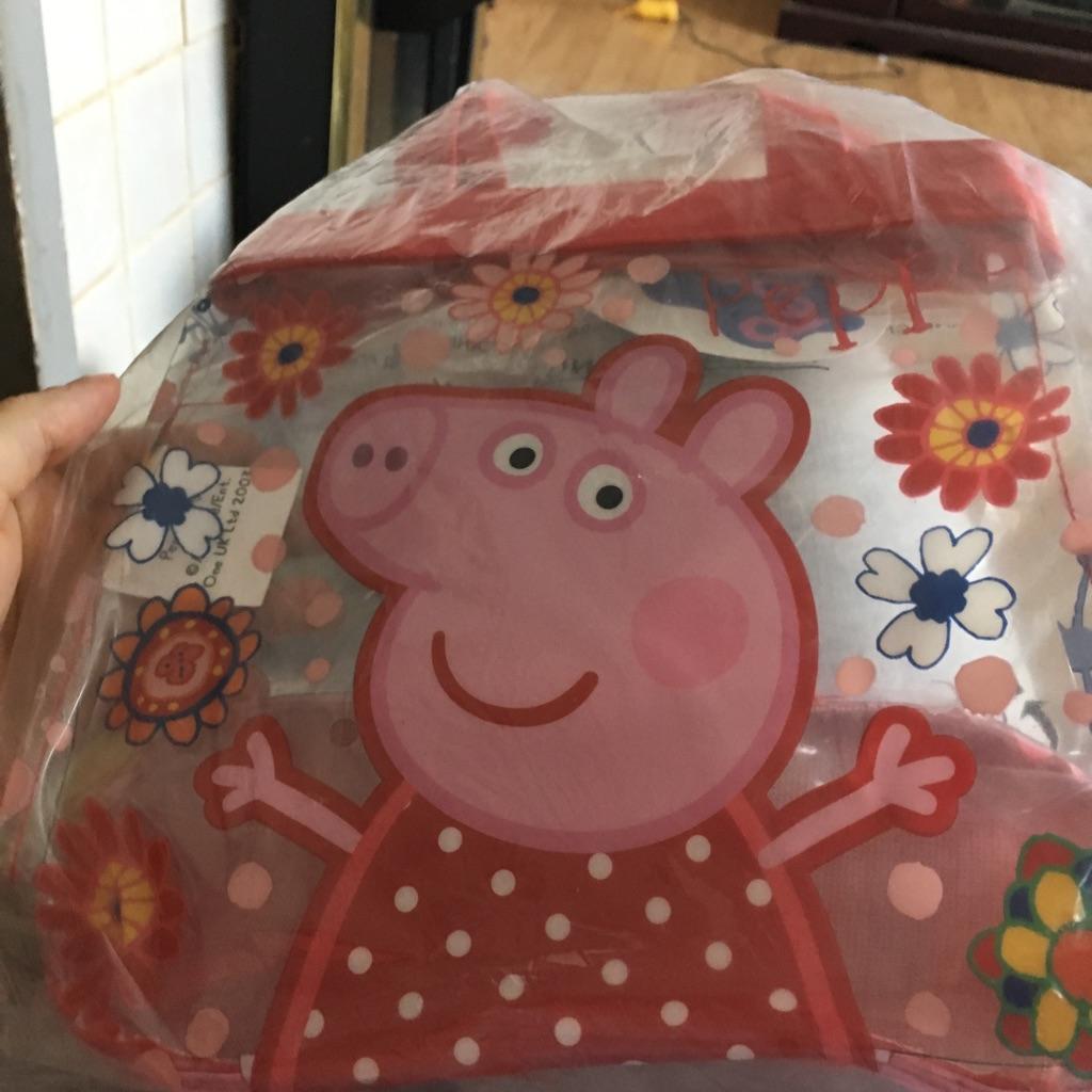 Brand new peppa pig bag