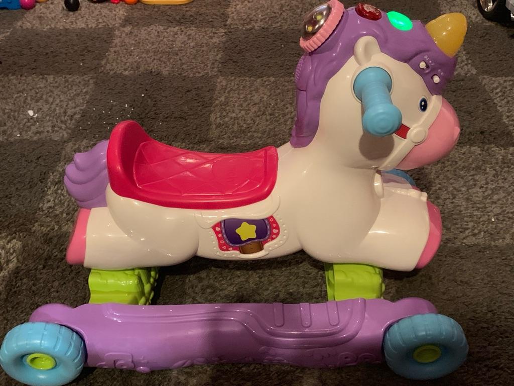 VTech rock and ride unicorn