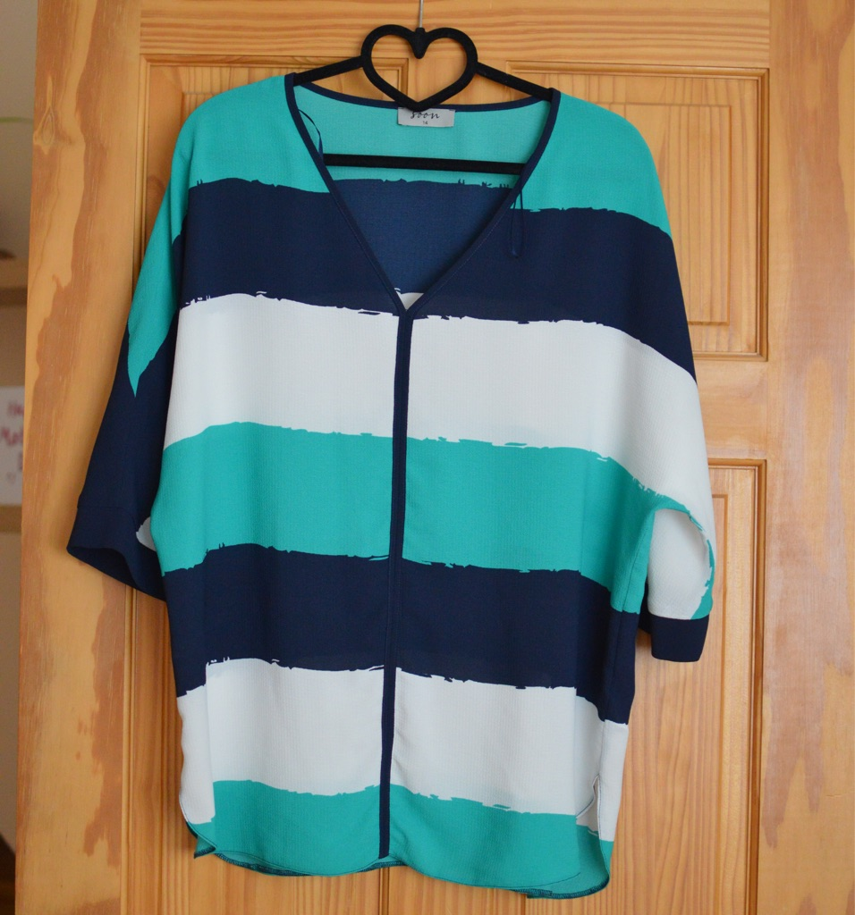 Size 14 three toned top