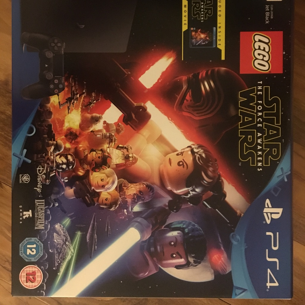 PlayStation 4 LEGO & Starwars