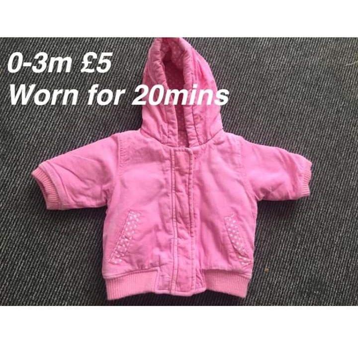 Baby coat 0-3m