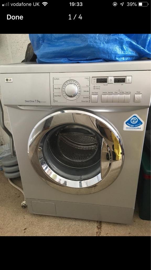 Washing machine 7.5kg