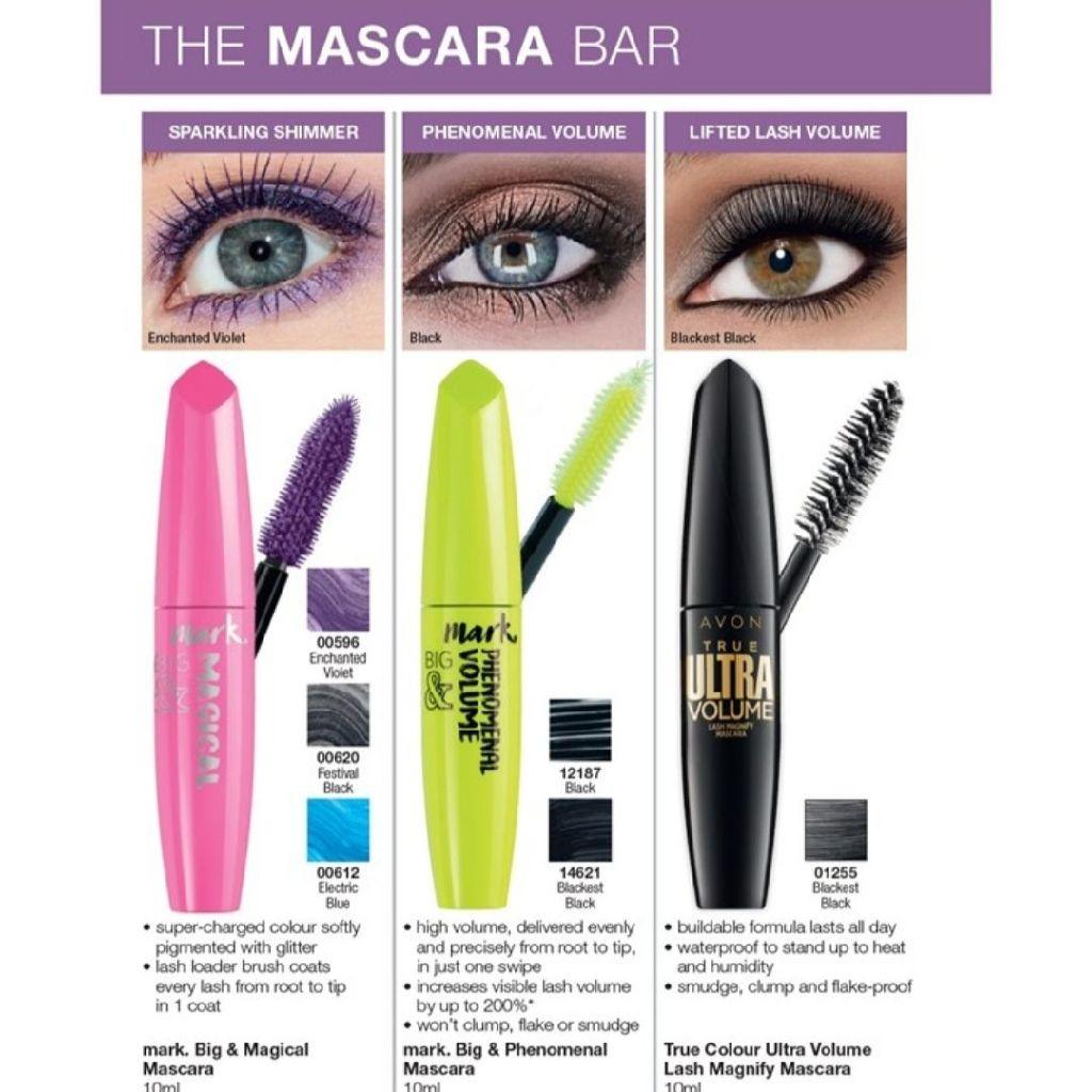 Avon Mark Big & Magical Mascara, Mark Big & Phenomenal, True colour Ultra volume Lash Magnify Mascara