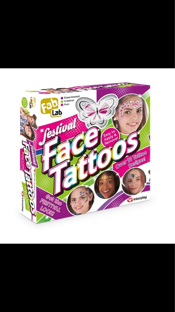 FabLab festival face tattoos!