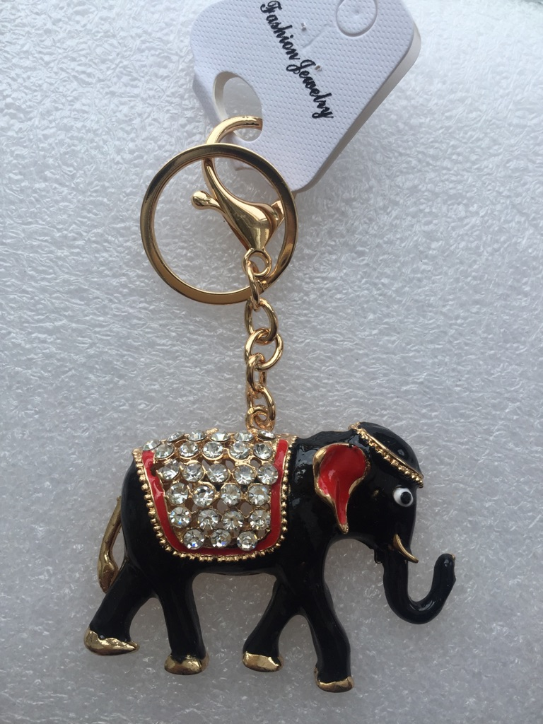 Keys ring holder with elephant *** 5