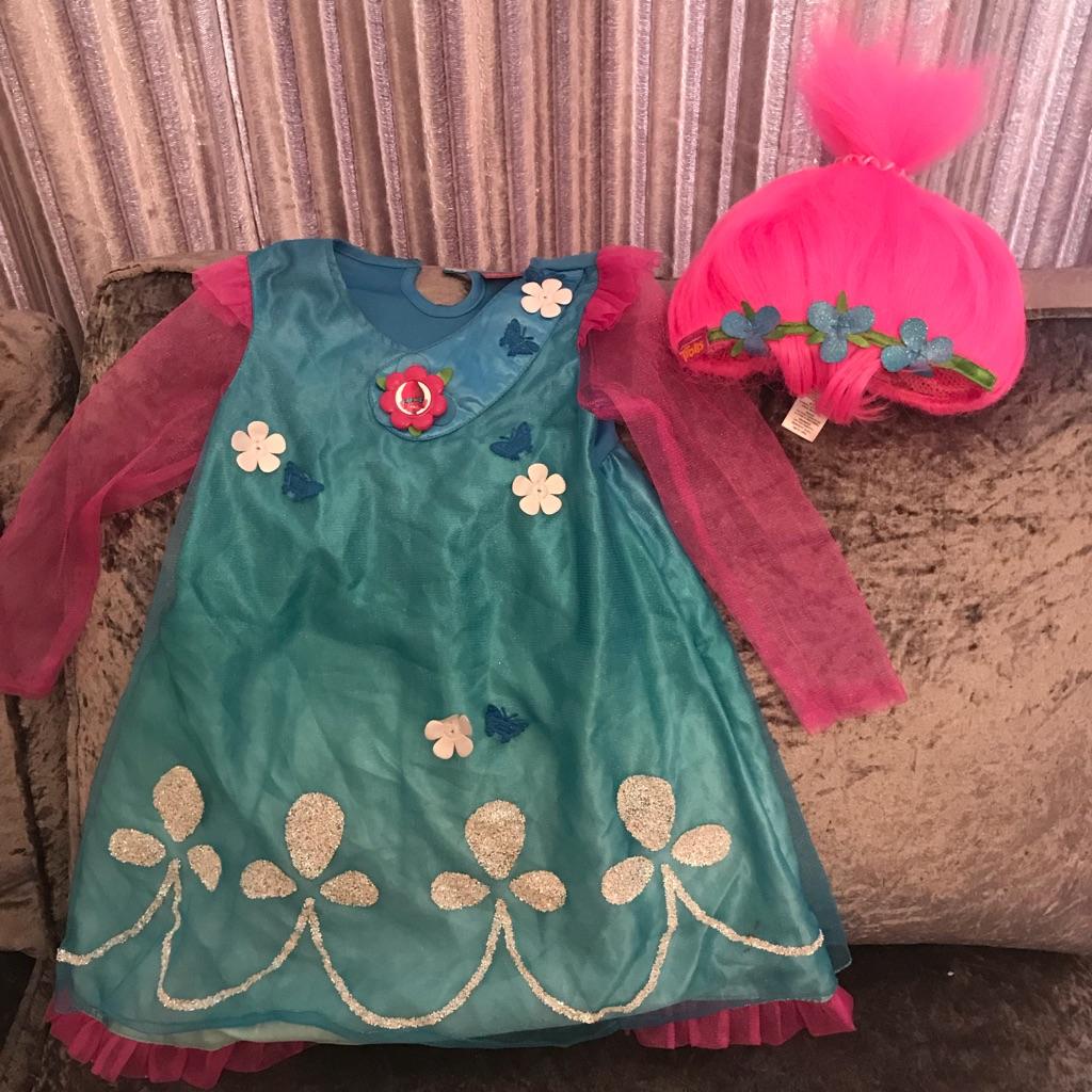 Poppy from trolls costume