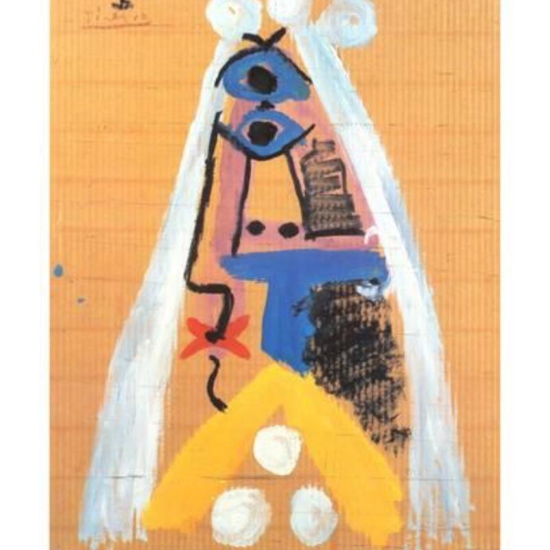 Pablo Picasso -Bride, 1969