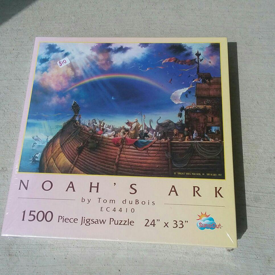 1500 piece noahs ark puzzle by