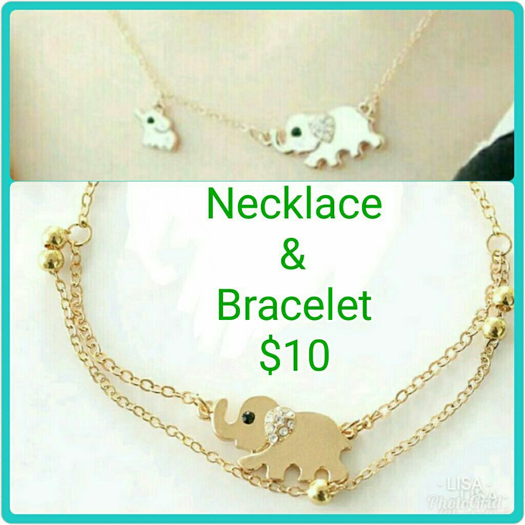 Bracelet & Necklace Set