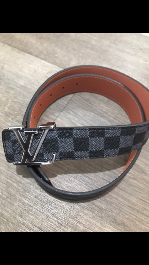 LV Silver Belt