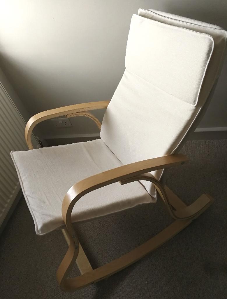 Scandi Nursing Rocking Chair