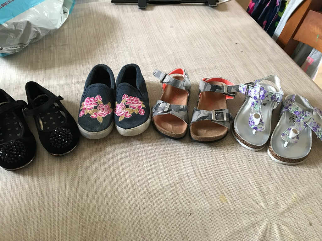 Size 10 girls shoes