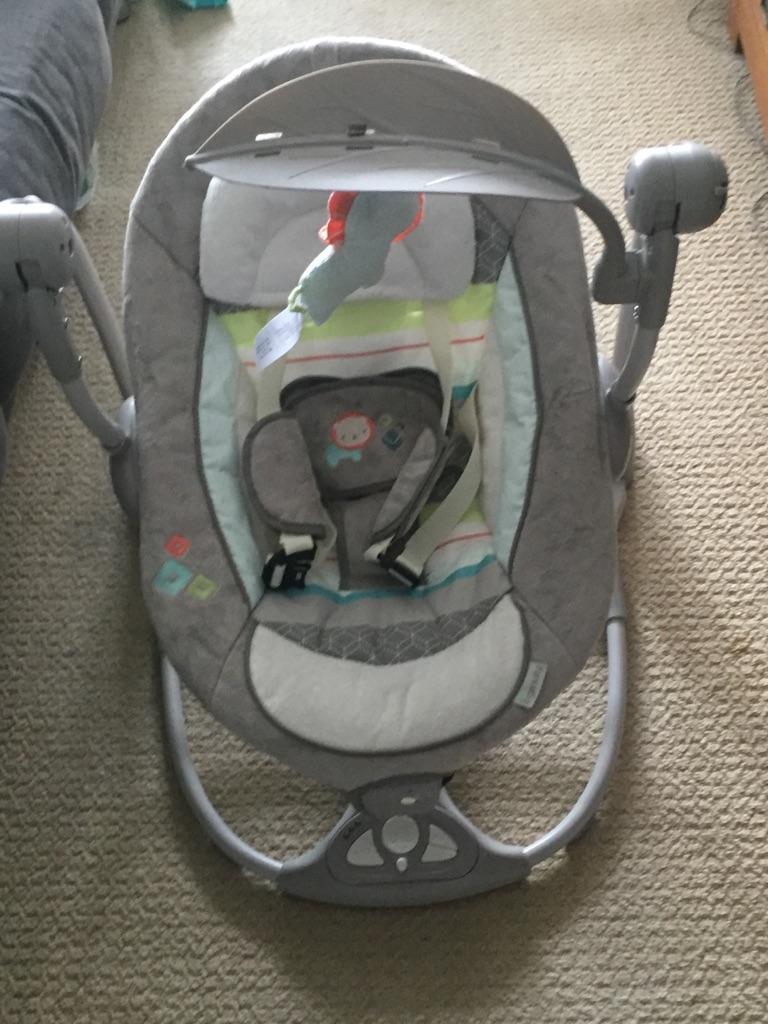 Ingenuity Convertme Swing-2-Seat Portable Swing Candler