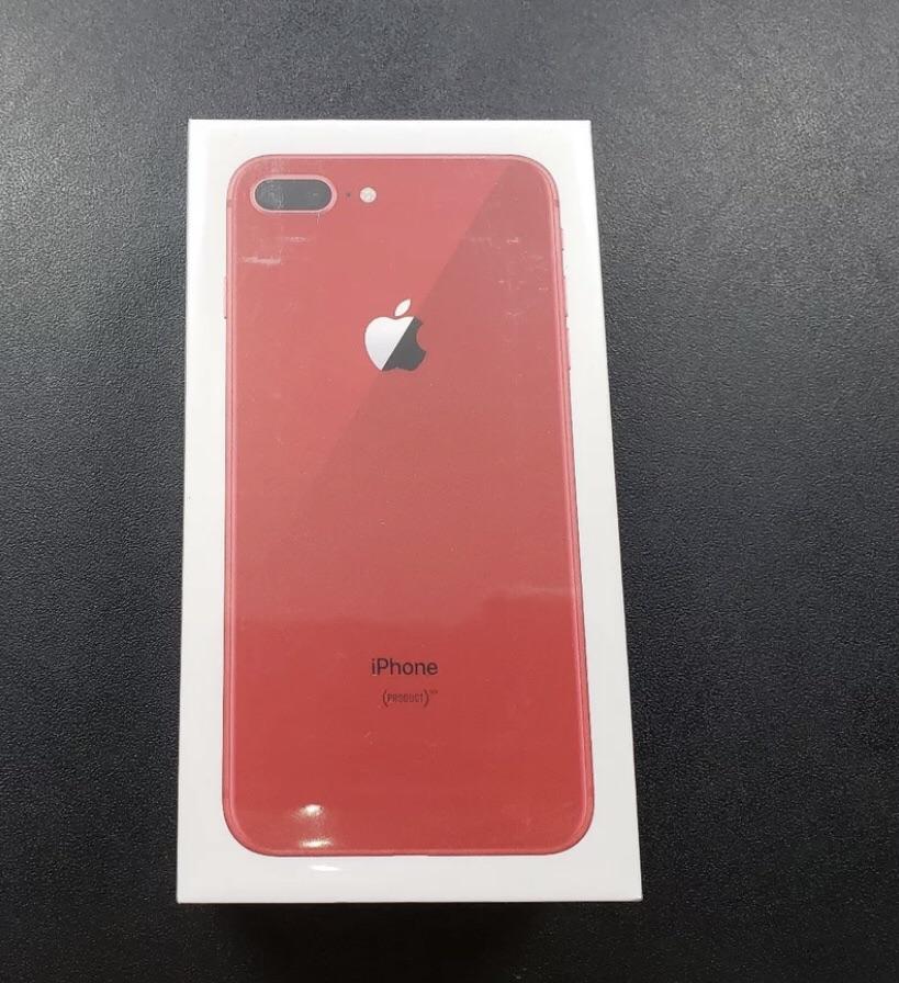 iPhone 8 Plus Red!