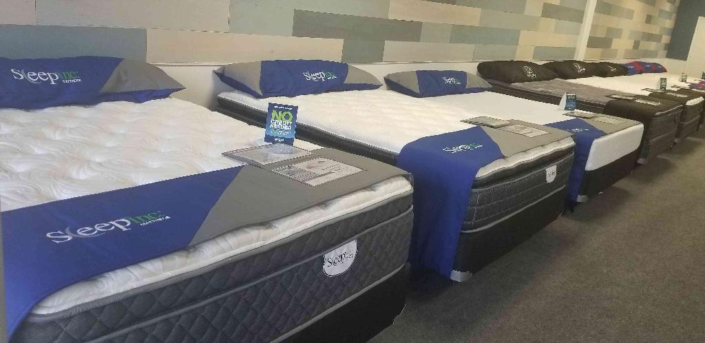 Lumbar support pillow top mattress