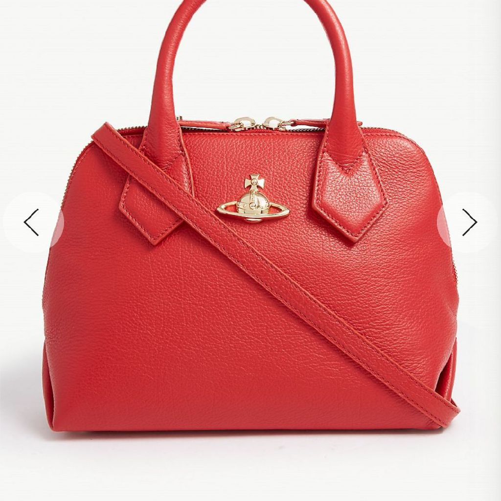 New Vivienne Westwood bag real leather