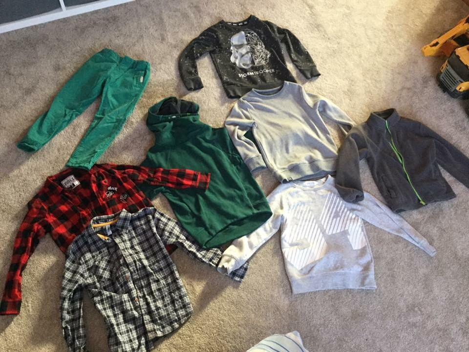 Boys clothes/shoes/boots