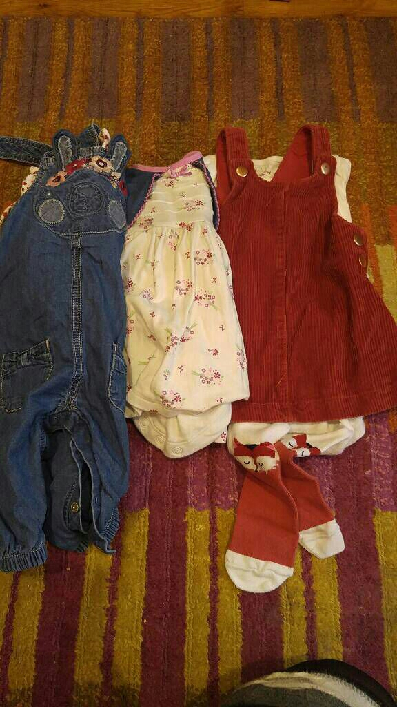3 baby girl outfits 3-6 months