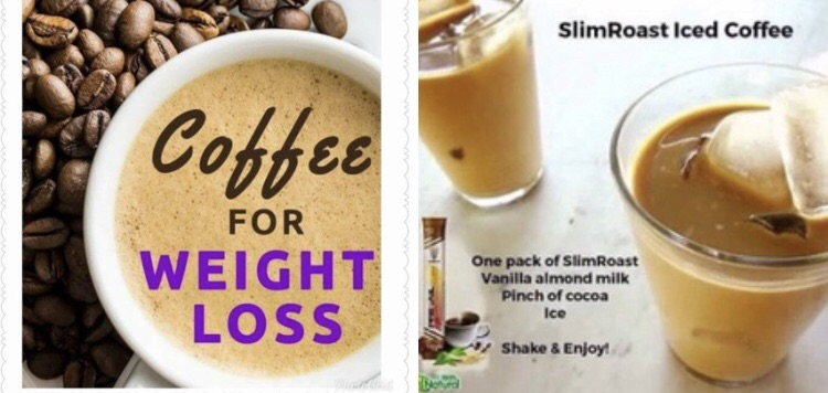 Weight management coffee and hot chocolate