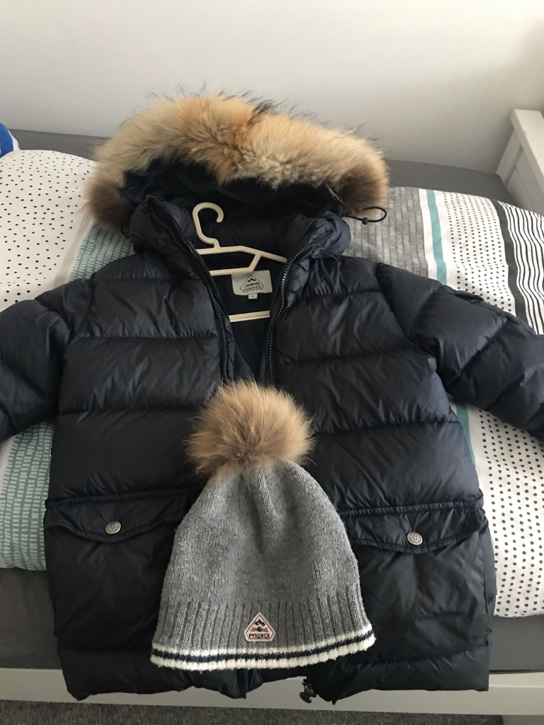 Pyrenex coat and hat
