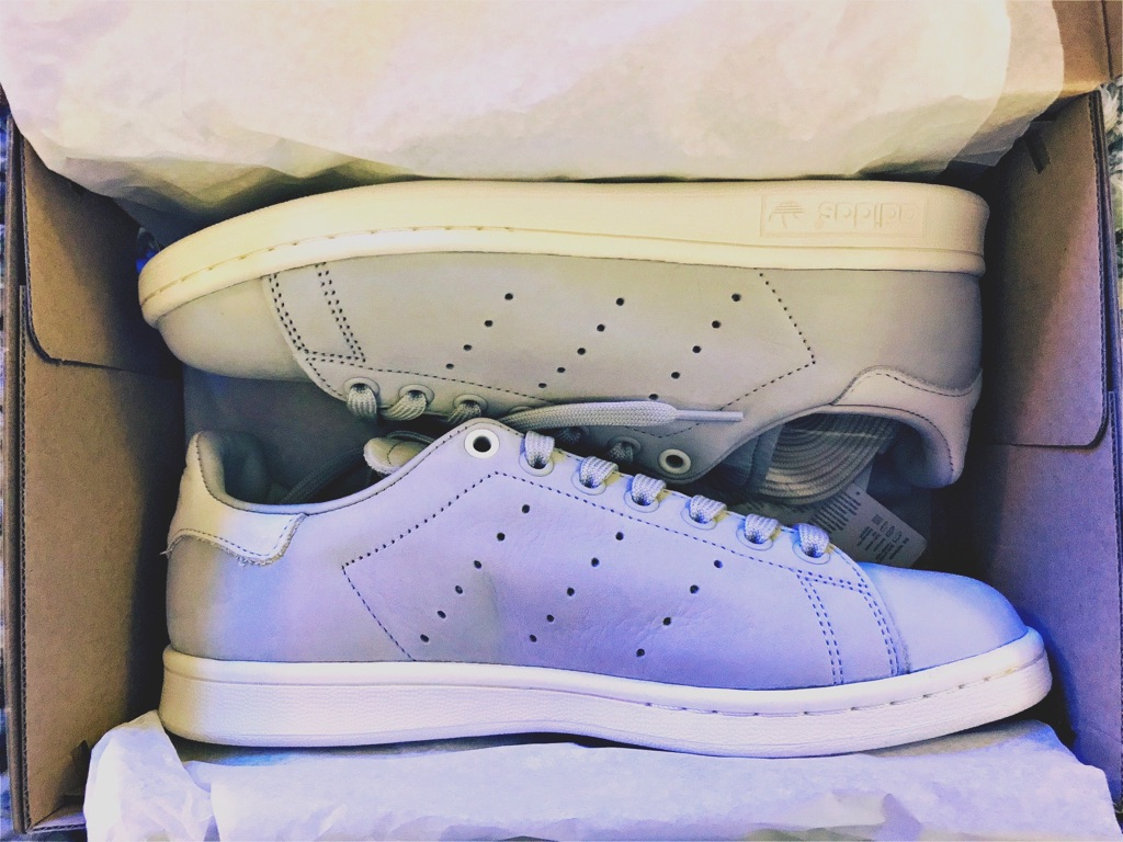 Women's Adidas Stan Smith Light Solid Grey/White Vapour