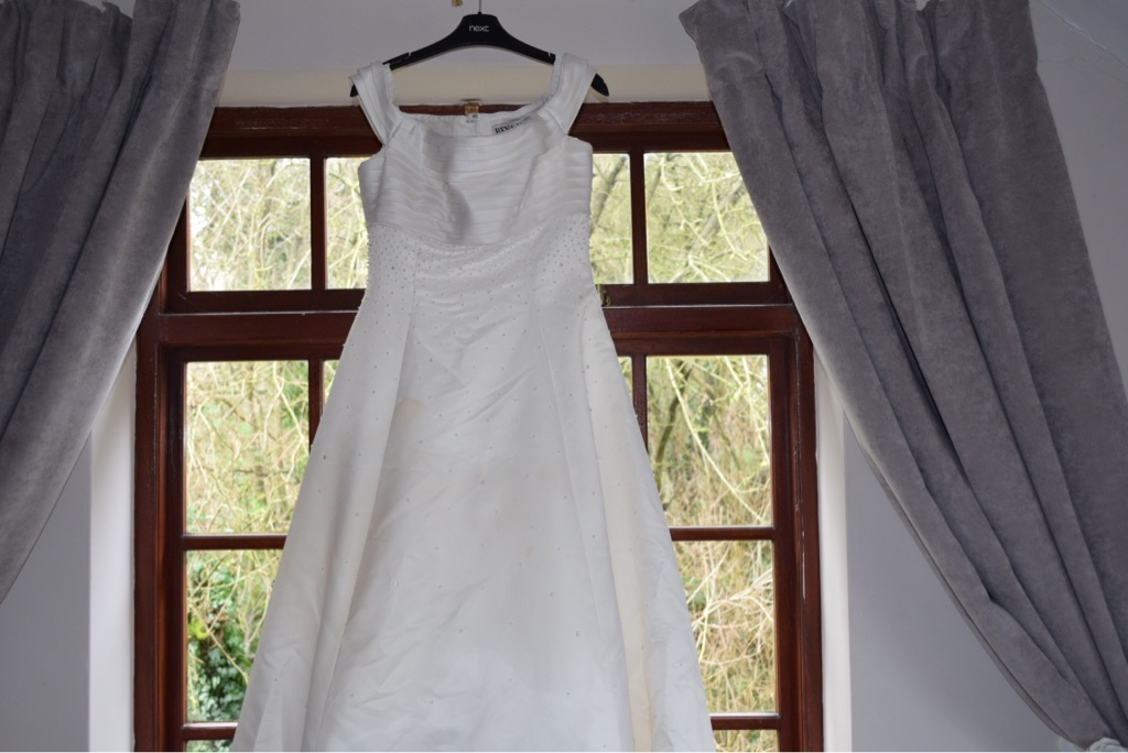 Rena Koh fine design wedding dress used