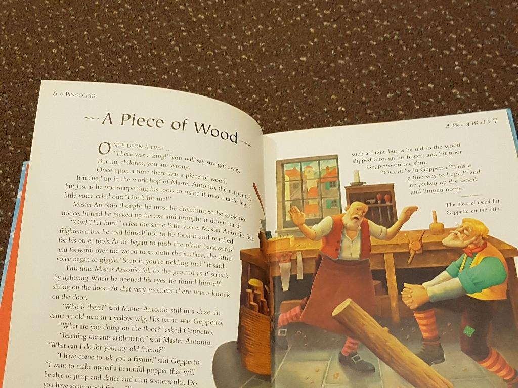 Pinocchio book new