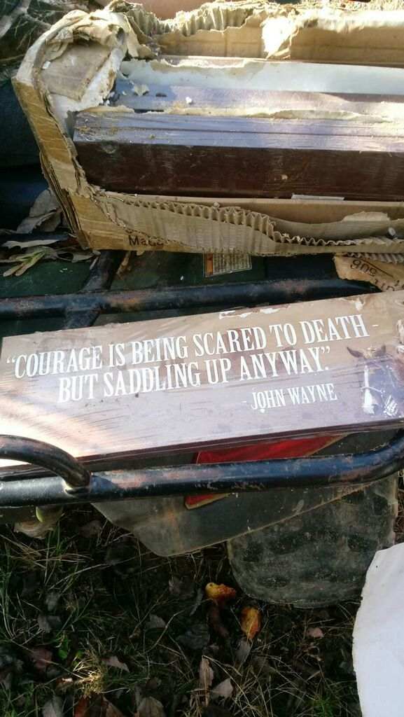 John Wayne signs