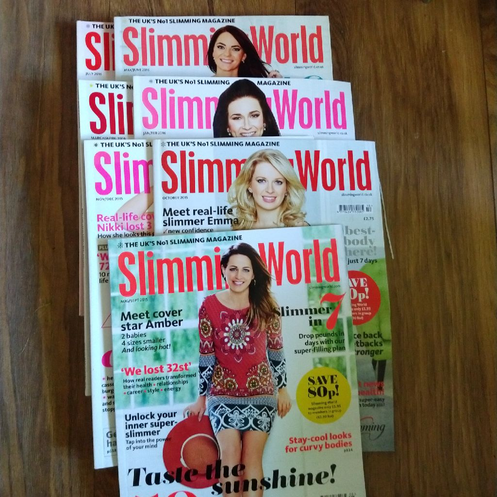 Slimming world magazines (7)