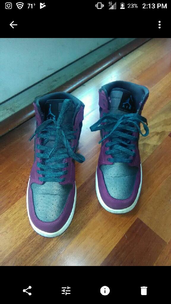 Mulberry Jordan ones