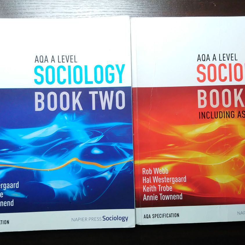 AQA Sociology Alevel textbooks Napier Press
