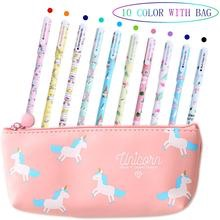 Aperil unicorn pens case with pens