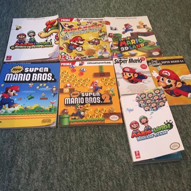 Mario chest books