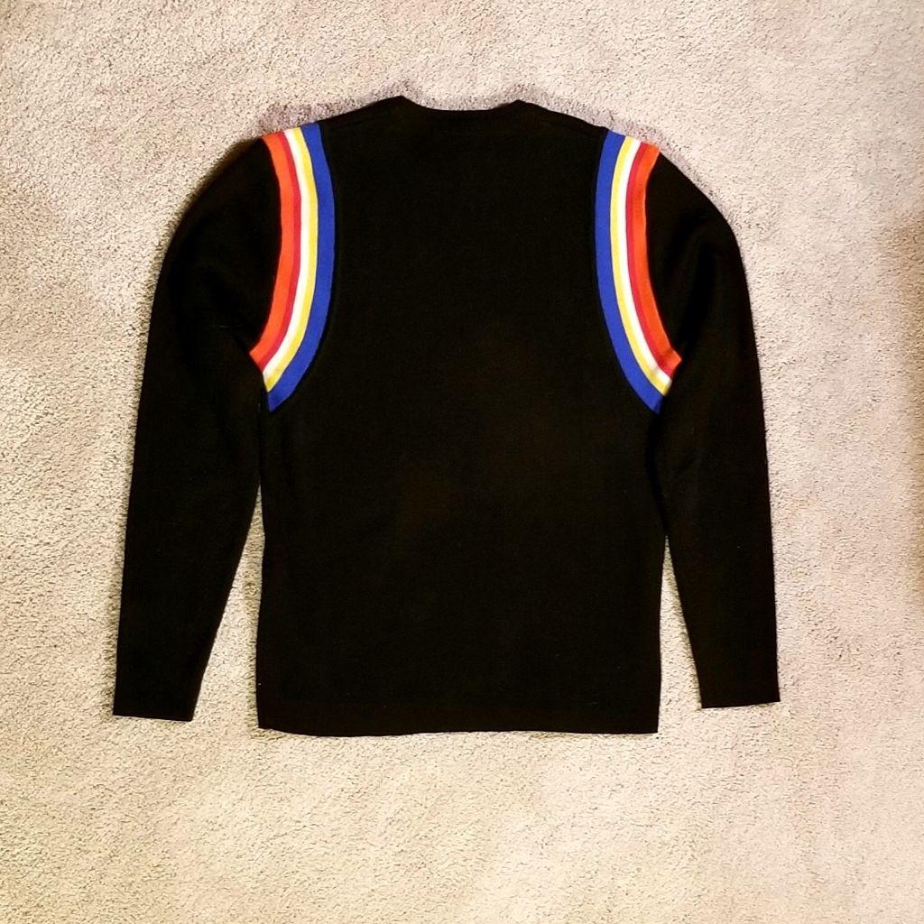 Men's Obermeyer wool sweater, Large.