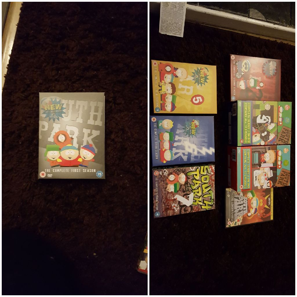 South park box sets