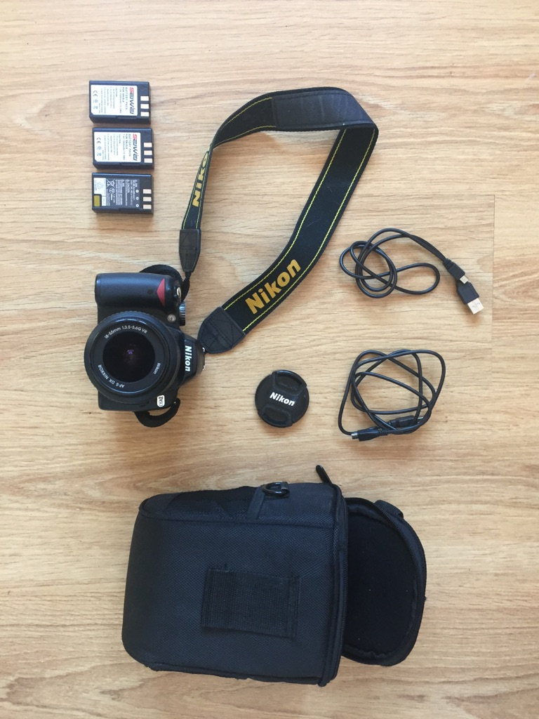 Nikon D60 Camera Starter Kit with extras!
