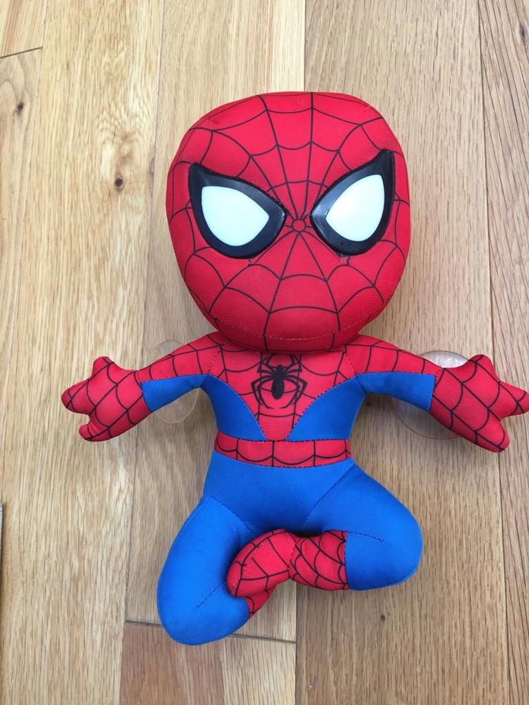 Spider Man Plush Night Light