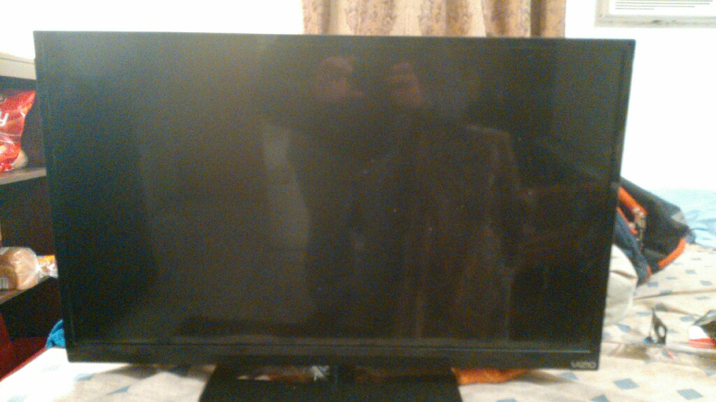 "32"" Vizio 1080p LED HD TV (Needs Power cord and universal remote if needed)"