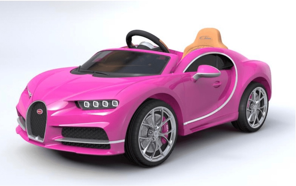 Bugatti Chiron Licensed 12V 7A Battery Powered Kids Electric Ride On Toy Car