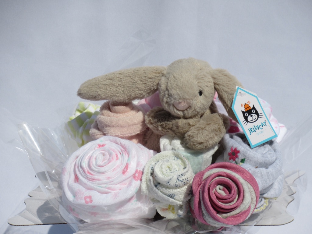 Jelly at bunny and some bunny loves you baby bouquets