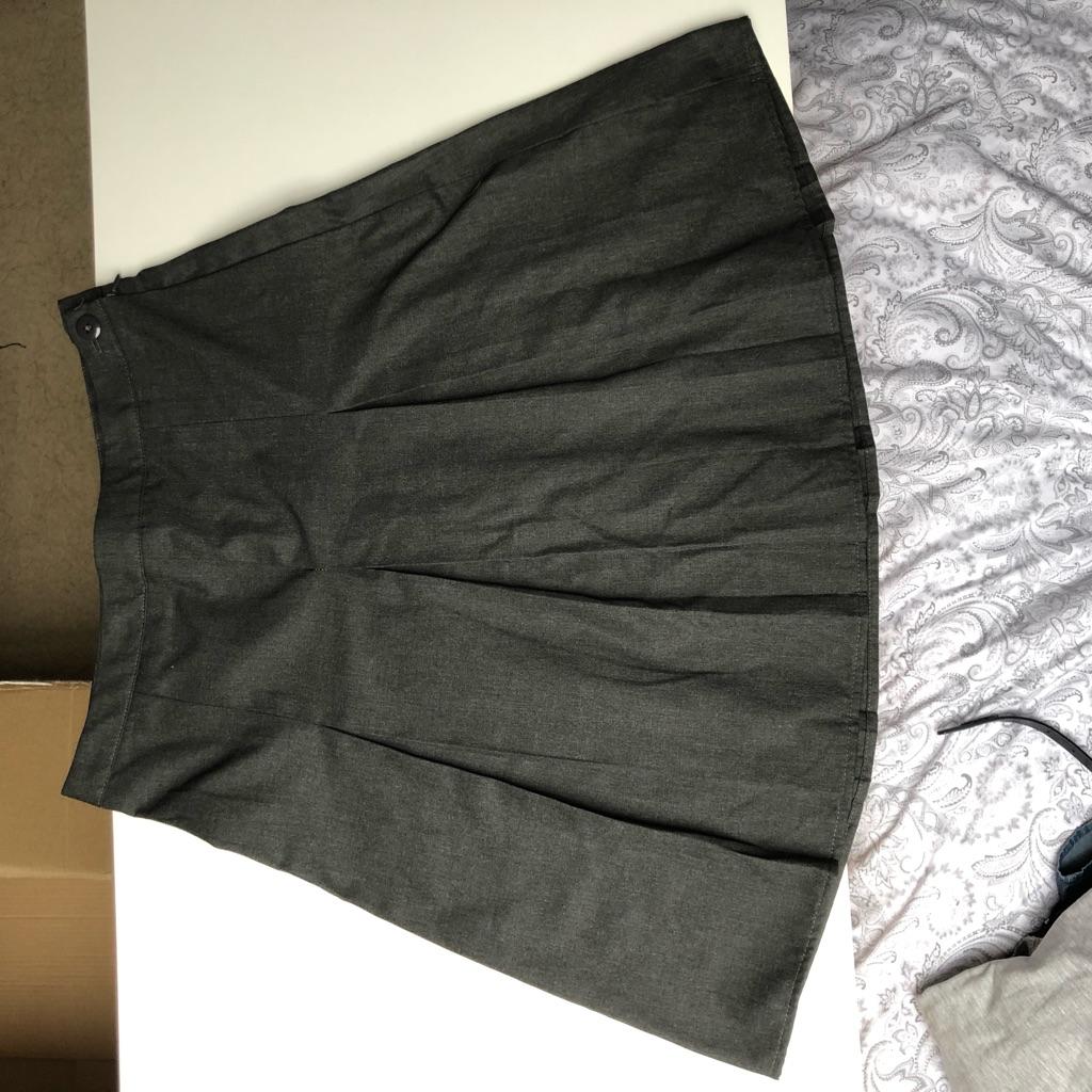 Grey school skirt, 12-13 years