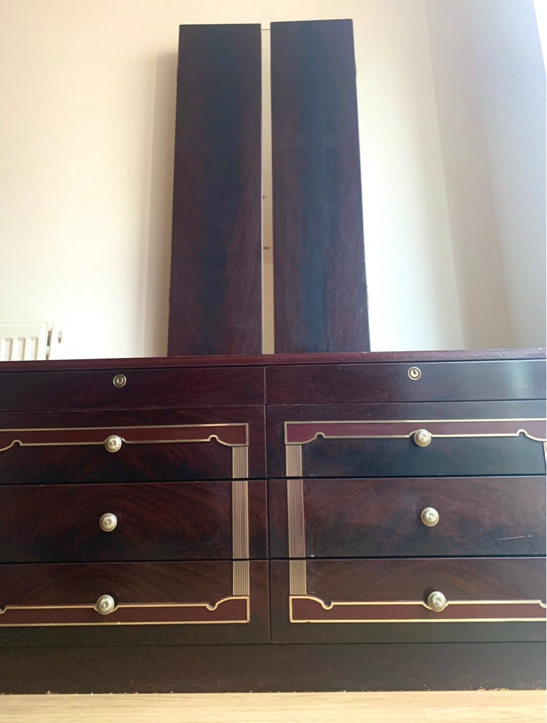Dressing/Dresser Table With Mirrors- Vintage - On Offer- NEEDS COLLECTING ASAP