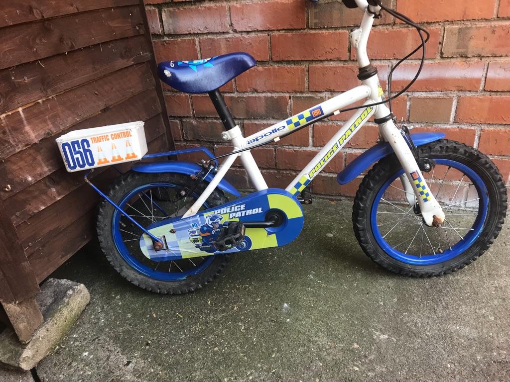 Child's police bike