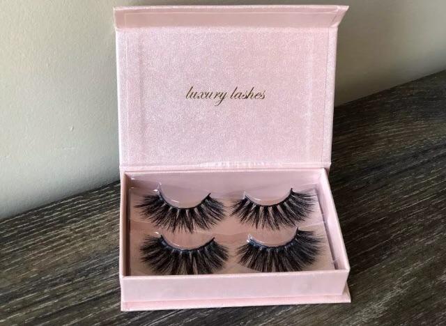 3D luxury eyelashes